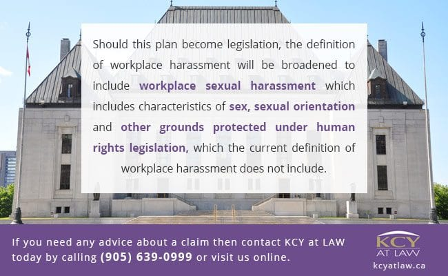 Changes to Employer Responsibilites About Sexual Harassment - Employment Law Canada