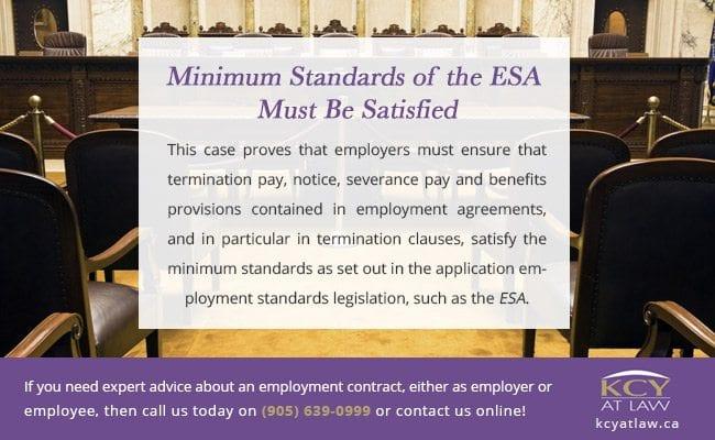 Minimum Standards of the ESA