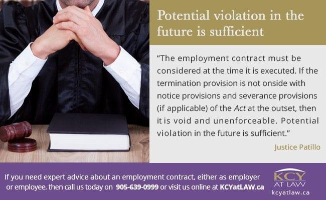 Violation of the ESA - Employment Lawyer