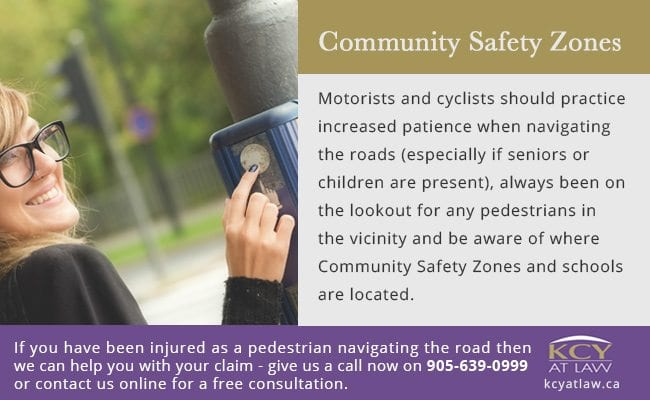 Community Safety Zones - Making Ontario's Roads Safer Act 2016