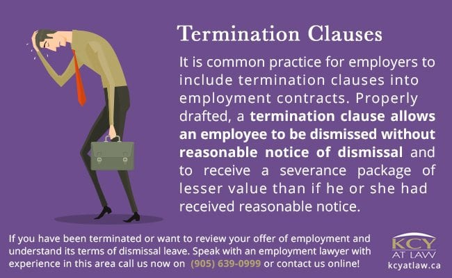 Termination Clauses Commonly Included in Contracts
