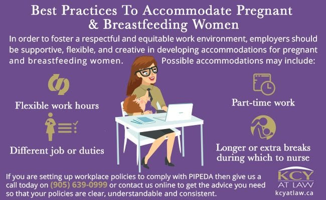 Best Practices for Accommodating Breastfeeding and Pregnant Women - Employment Law Canada