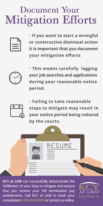 Document Your Mitigation Efforts - KCY at LAW