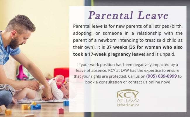 Parental Leave of Absence - KCY at LAW