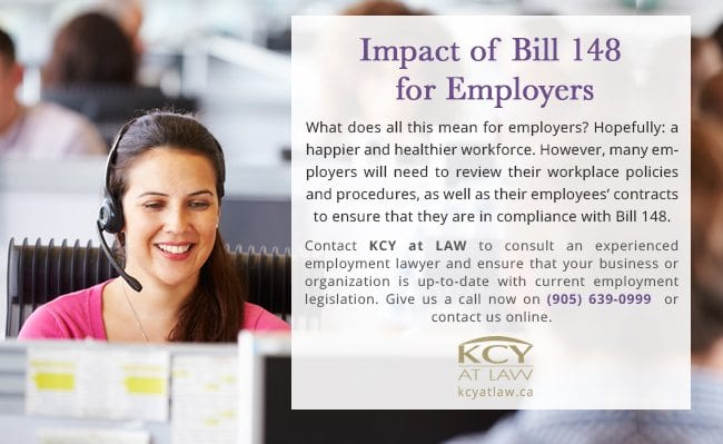 Impact of Bill 48 for Employers